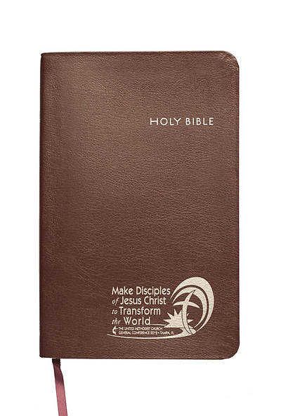 CEB Common English Thinline Bible EcoLeather Burgundy UMC General Conference 2012 Edition