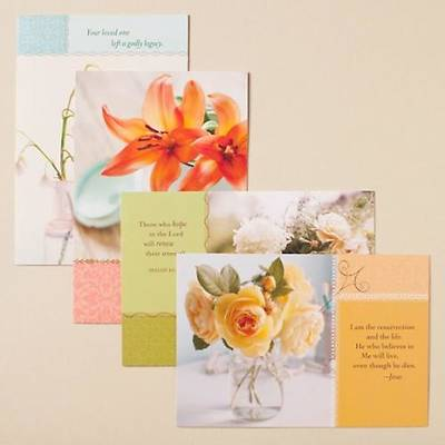 Softly - Sympathy Boxed Cards - Box of 12