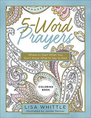 Picture of 5-Word Prayers Coloring Book