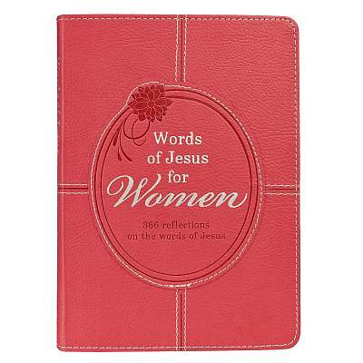 Lux-Leather Pink - Words of Jesus for Women