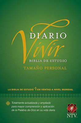 Picture of Biblia de Estudio del Diario Vivir Ntv, Tamaño Personal (Letra Roja, Tapa Dura)