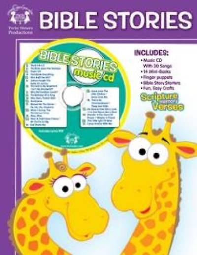 Bible Stories Workbook With Music CD