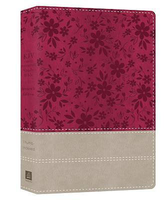 Picture of The KJV Cross Reference Study Bible Women's Edition Indexed [Floral Berry]