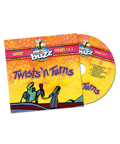 Picture of Buzz Grades 1-2 Twists 'n Turns CD Winter 2020-2021
