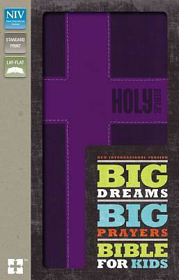 Picture of Big Dreams, Big Prayers Bible for Kids, NIV