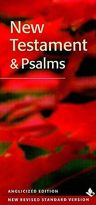 Picture of Slimline New Testament & Psalms New Revised Standard Version Anglicized Edition