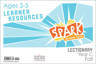 Picture of Spark Lectionary Ages 2-3 Learner Leaflet Year C Fall