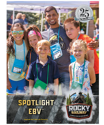 Picture of Vacation Bible School VBS 2021 Rocky Railway Spotlight VBS Leader Manual (Spanish for Bilingual Edition)