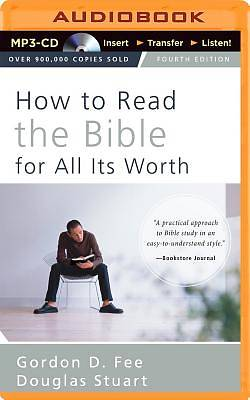 How to Read the Bible for All Its Worth MP3 CD