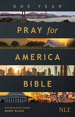 Picture of The One Year Pray for America Bible NLT (Softcover)