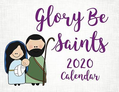 Picture of Glory Be Saints Calendar 2020
