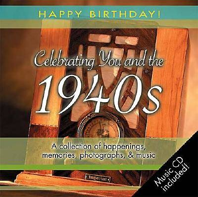 Picture of 1940s Birthday Book