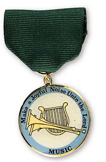 Music Recognition Medal