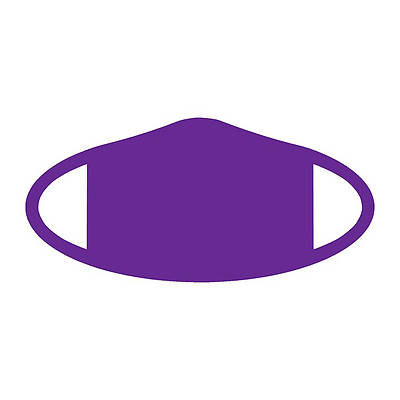 Picture of Decomask Universal Fit Face Mask - Purple