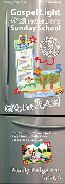 Picture of Gospel Light Grade 1-4 Family Fridge Fun Spring Year A