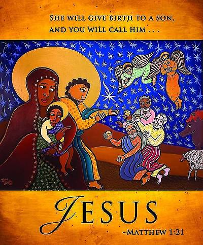 Jesus/Christmas Nativity Bulletin 2013, Large Size (Package of 50)
