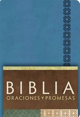 Picture of Rvc Biblia Oraciones y Promesas - Azul Cobalto Simil Piel Con Indice