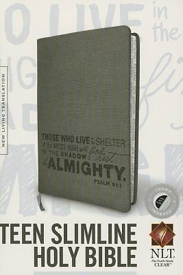 Picture of Teen Slimline Bible NLT