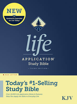 Picture of KJV Life Application Study Bible, Third Edition (Red Letter, Hardcover)
