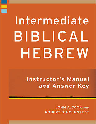 Picture of Intermediate Biblical Hebrew Instructor's Manual and Answer Key