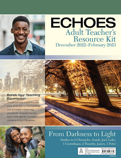 Echoes Adult Teacher Resource Kit Winter