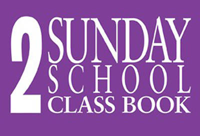 Judson Sunday Church School Classbooks 48 Names Pk