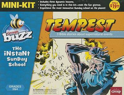 Groups Buzz Tempest Grades 3 & 4 Mini-Kit