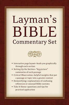 Laymans Bible Commentary Set
