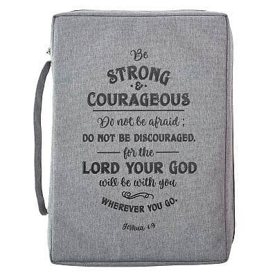 Picture of Bible Cover Medium Value Be Strong and Courageous
