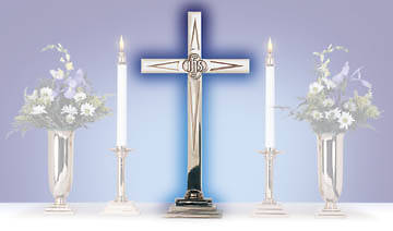 Star Altar Cross