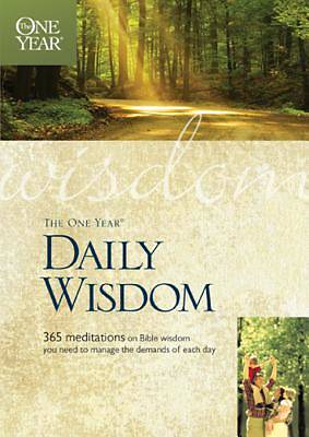 The One Year Daily Wisdom [ePub Ebook]