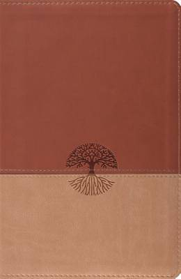 New Classic Reference Bible (Trutone, Brown/Tan, Tree Design)