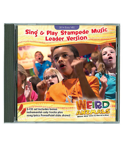 Group VBS 2014 Weird Animals Sing & Play Stampede Music Leader Version CD Set