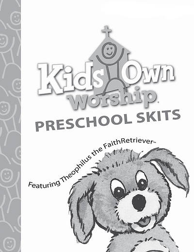 Picture of KidsOwn Worship Preschool Skit Book Winter 2018-19