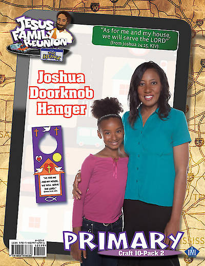 UMI VBS 2014 The Jesus Connection: Joshua Doorknob Hanger Craft Kit 10 Pkg