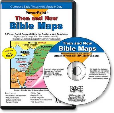 Then and Now Bible Maps PowerPoint Presentation