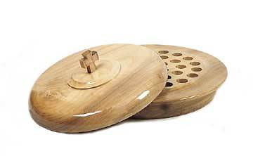 Communion Tray Wood 14