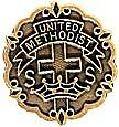 United Methodist 3 Month Sunday School Attendance Pin