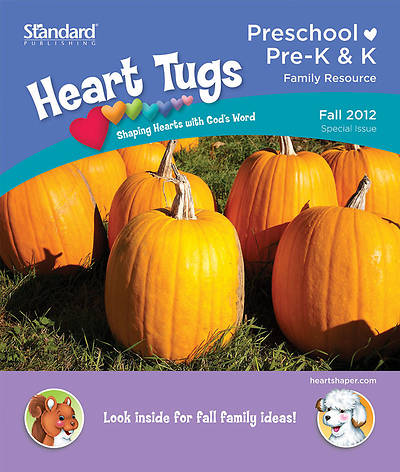 Standards HeartShaper Heart Tugs/Preschool &  PreK & K Take Home Papers: Fall 2012 (pack of 5)