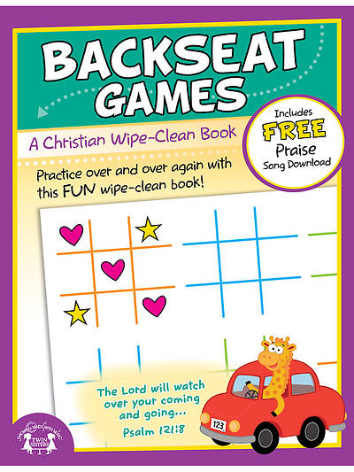 Backseat Games Wipe Clean Workbook