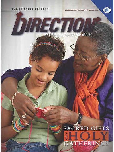 Picture of UMI Direction Student Large Print Winter 2015-16