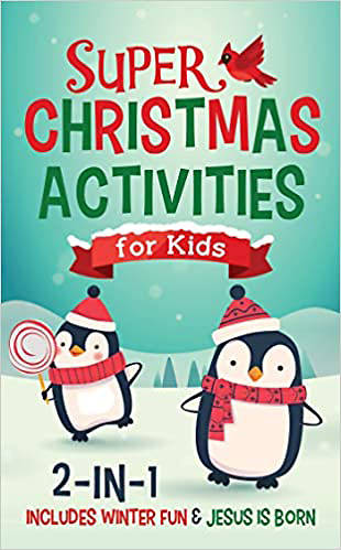 Picture of Super Christmas Activities for Kids 2-in-1