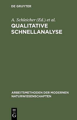 Picture of Qualitative Schnellanalyse