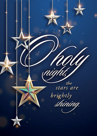 Picture of O Holy Night Cards - Box of 12 Luke 2:11