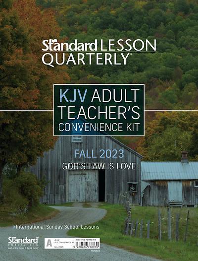 Picture of Standard Lesson Quarterly KJV Adult Teacher Kit Fall