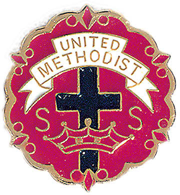 Picture of United Methodist 6 Month Sunday School Attendance Pin