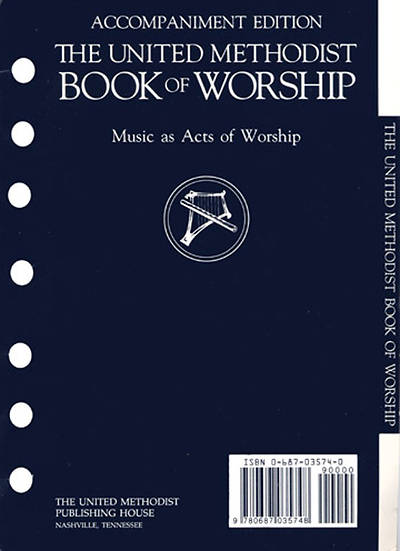 The United Methodist Book Of Worship Accompaniment Edition