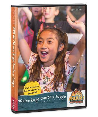 Picture of Vacation Bible School (VBS19) Roar Sing & Play Music DVD (Spanish for Bilingual Edition)