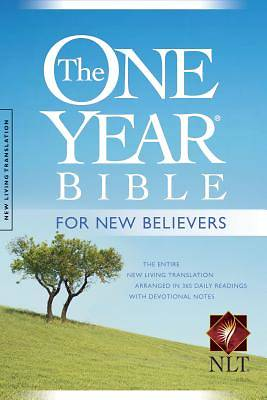 One Year Bible for New Believers-NLT