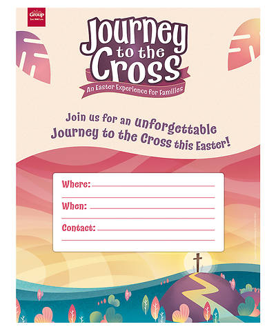 Picture of Journey to the Cross Publicity Posters (Pkg of 5)